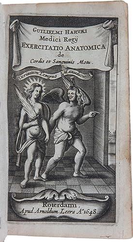 Exercitationes Duae Anatomicae De Circulatione Sanguinis Ad: HARVEY, William