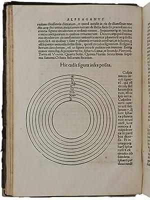 Continentur in hoc Iibro. Rudimenta astronomica Alfragrani.: AL-FARGHANI, Ahmad ibn