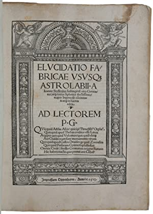 Elucidatio fabricae usuque astrolabii