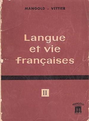 Langue et vie françaises: Mangold, Walter y
