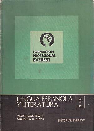 Lengua española y Literatura. 1 grado-2º curso: Victoriano Rivas, Andres.