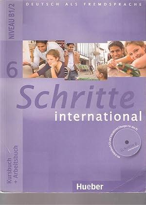 Schritte International 6. Niveau B1/2. Kursbuch+Arbeitsbuch: VV. AA.