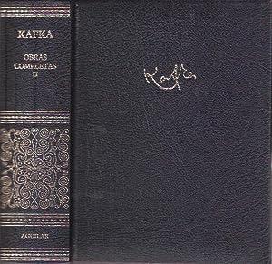 Obras completas I: Kafka, Franz