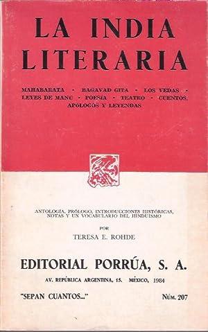 La India literaria: Rohde, Teresa E.