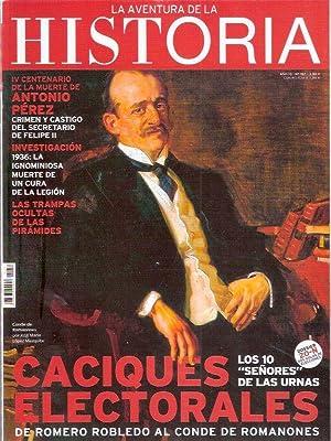 La aventura de la Historia. Caciques electorales.: AA.VV.