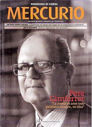 Panorama de libros Mercurio, 127. Pere Gimferrer: VV. AA.