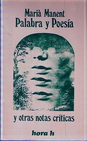Palabra y Poesía: Manent, María