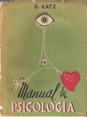 Manual de psicología: Katz, David