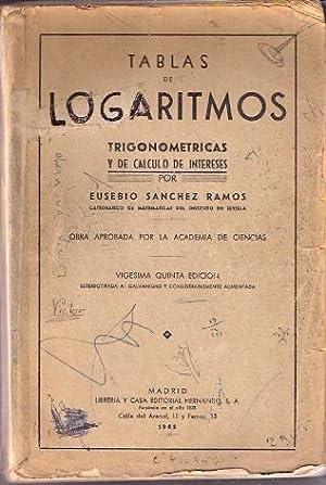Tablas de logaritmos: Sánchez Ramos, Eusebio