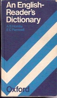 An English-Reader s Dictionary: Hornby, A S.