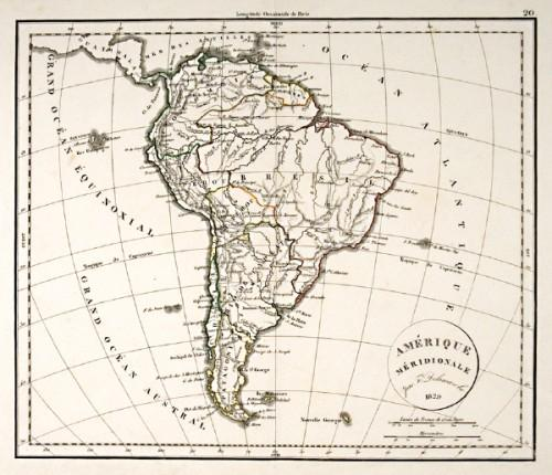 Map of South America Charles Francois Delamarche [ ] (bi_18947275002) photo