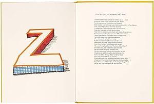 Hockney's Alphabet.: HOCKNEY, David.