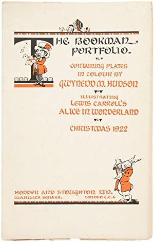Bookman Portfolio, containing plates in colour by: CARROLL, Lewis]. HUDSON,