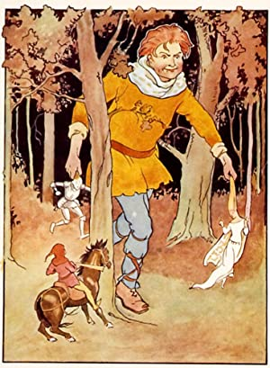 Making his way through the trees, Jack: Margaret W. Tarrant