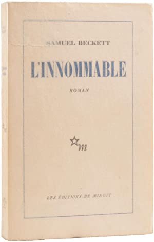 L'Innommable.: BECKETT, Samuel