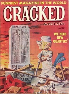 Cracked Magazine #22: Laikin, Paul, Editor