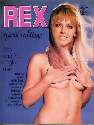 Rex; Special Edition; Vol. 1 No. 1: Stone, Jordan, Editor