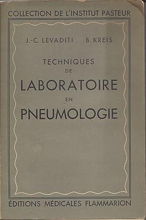Techniques de Laboratoire en Pneumologie: Levaditi, J.-C.; B.