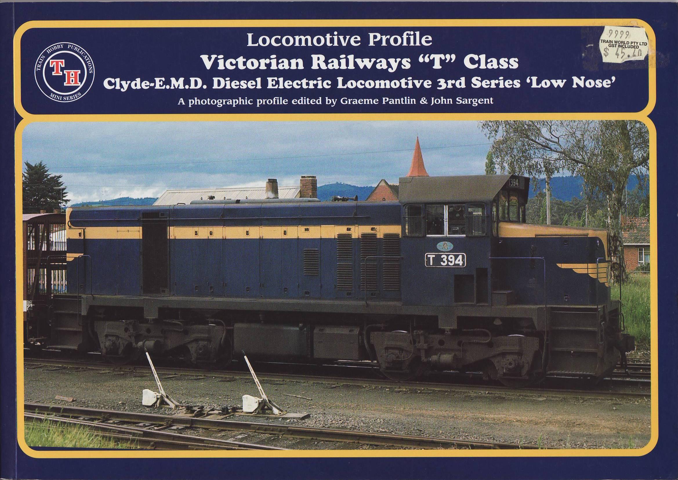 Victorian Railways T Class Clyde EMD Diesel