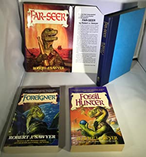 The Quintaglio Ascension trilogy: Far-Seer, Fossil Hunter & Foreigner [ALL SIGNED]