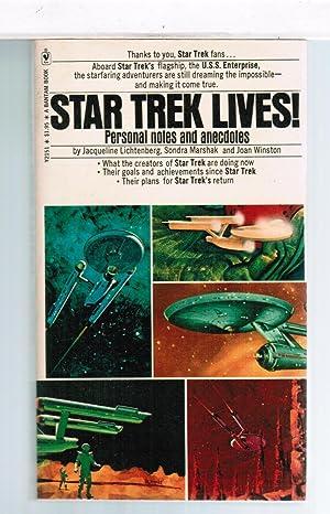 Star Trek Lives! Personal Notes and Anecdotes: Jacqueline Lichtenberg, Sondra