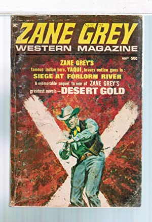 Zane Grey Western Magazine 1970 May: Zane Grey; Romer