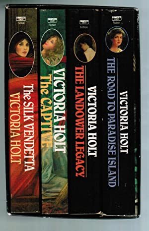 Slipcase box set containing 4 book: Road: Victoria Holt