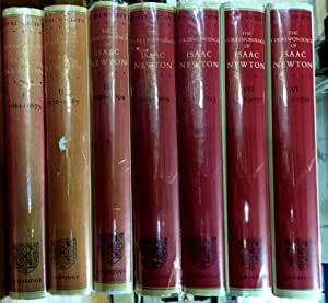 The Correspondence of Isaac Newton, Complete Seven Volume Set