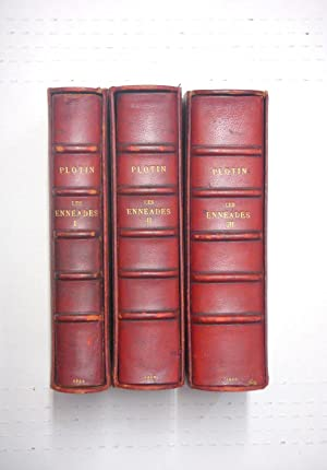 Les Enneades, Traduction Philosophique, Three Volume Leather: Plotin (Plotinus); Abbe