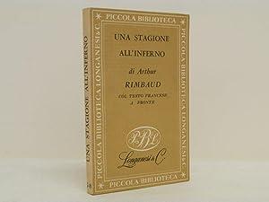 Una stagione all'inferno e lettere: Rimbaud Arthur
