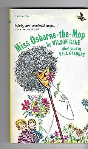 Miss Osborne-the-Mop: Wilson Gage (Mary