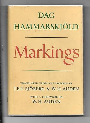 Markings: Hammarskjold, Dag ;