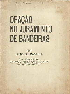 Oração no Juramento de Bandeiras: Osorio, João de