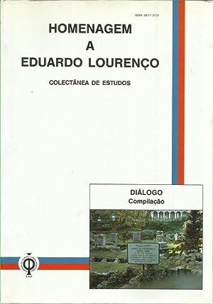 Homenagem a Eduardo Lourenço - Colectânea de