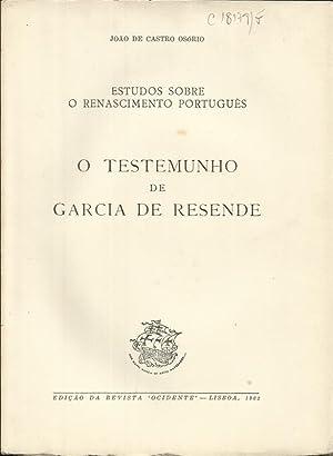 O Testemunho de Garcia de Resende: Osorio, João de