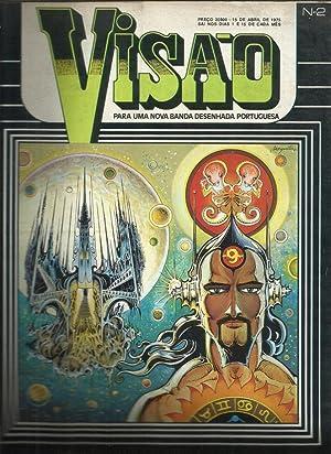 Visão Banda Desenhada Portuguesa 1975 - Temos: Mesquita, Vitor