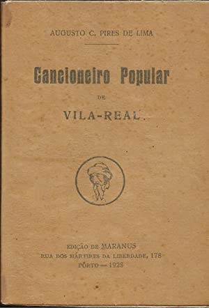 Cancioneiro Popular de Vila Real: Lima, Augusto C.