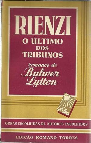 Rienzi O Último dos Tribunos: Lytton, Bulwer (Lord)