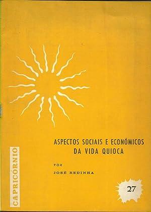 Aspectos Sociais e Económicos da Vida Quioca: Redinha, José