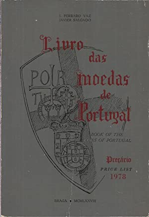 Livro das Moedas de Portugal Preçario 1978 - Book of The Coins of Portugal Price List 1978