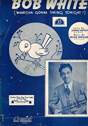 Bob White Whatcha Gonna Swing Tonight - Piano Sheet Music