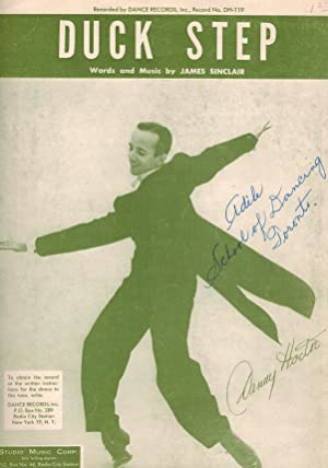 Duck Step - Piano Sheet Music - Danny Hoctor Cover