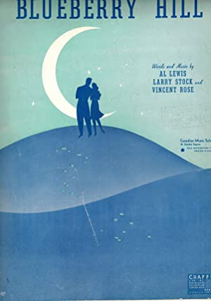 Blueberry Hill - Vintage Sheet Music