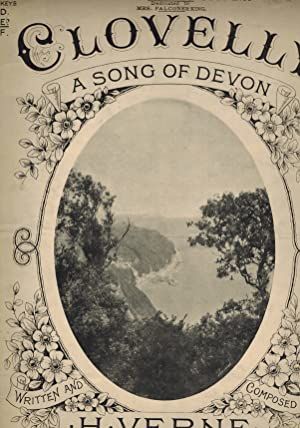 Clovelly: A Song of Devon - Vintage Sheet Music