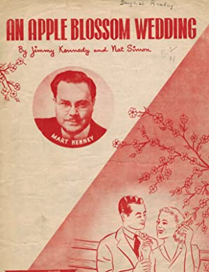 An Apple Blossom Wedding - Vintage Sheet Music with Mart Kenny Photo
