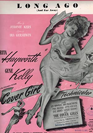 Long ago and Far Way - Sheet Music from Cover Girl - Rita Hayworth Cover