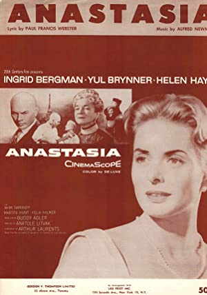 Anastasia - Sheet Music - Ingrid Bergman Cover