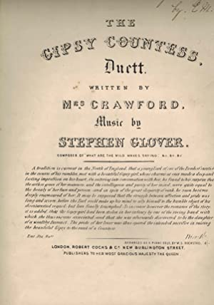 Gipsy ( Gypsy ) Countess Duet ( Duett ) - Piano Sheet Music