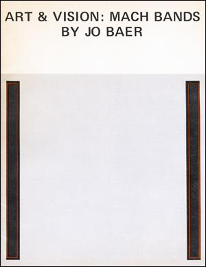 Art & Vision : March Bands, No.: Jo Baer