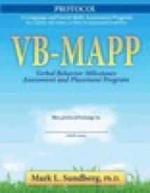 VB-MAPP Protocol: Verbal Behavior Milestones Assessment and Placement Program: Mark L. Sundberg